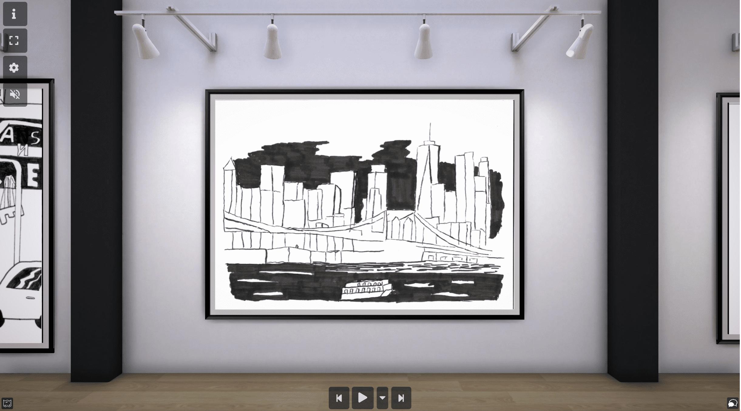 Découvrez les galeries d'art virtuelle de nos collégiens